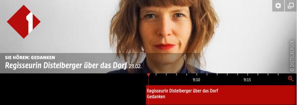 OE1-Gedanken – Teresa Distelberger spricht über die Stanz und andere Dörfer