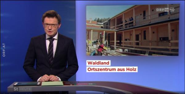ORF berichtet über Stanzer Ortszentrum
